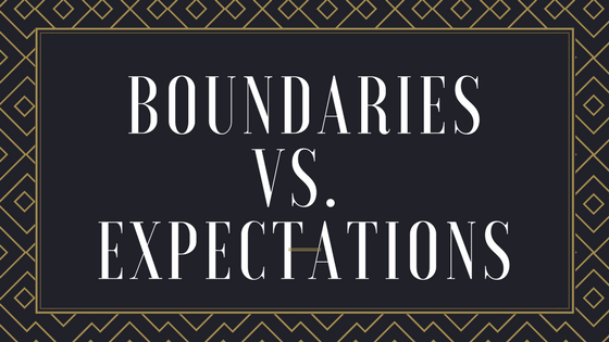 Successful teens have boundaries, not expectations